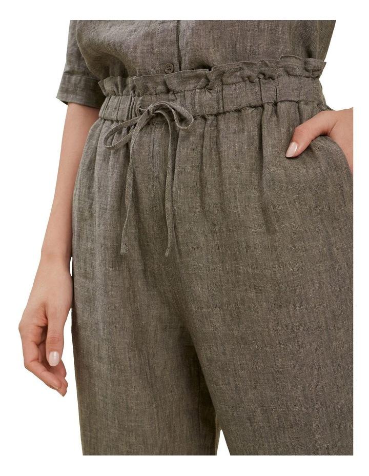 Linen Tie Up Pants image 4