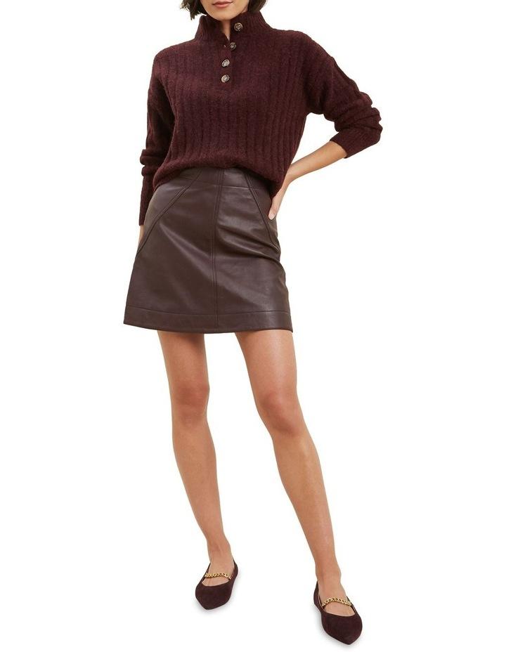 Rib Collared Sweater image 2