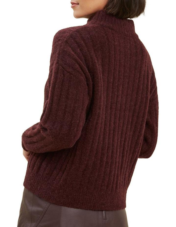 Rib Collared Sweater image 3