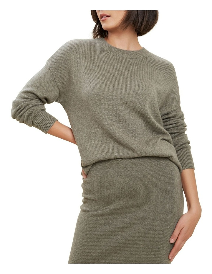 Relaxed Knit Sweater image 1