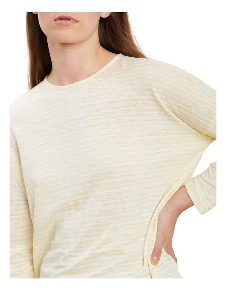 3/4 Sleeve Linen Tee image 4