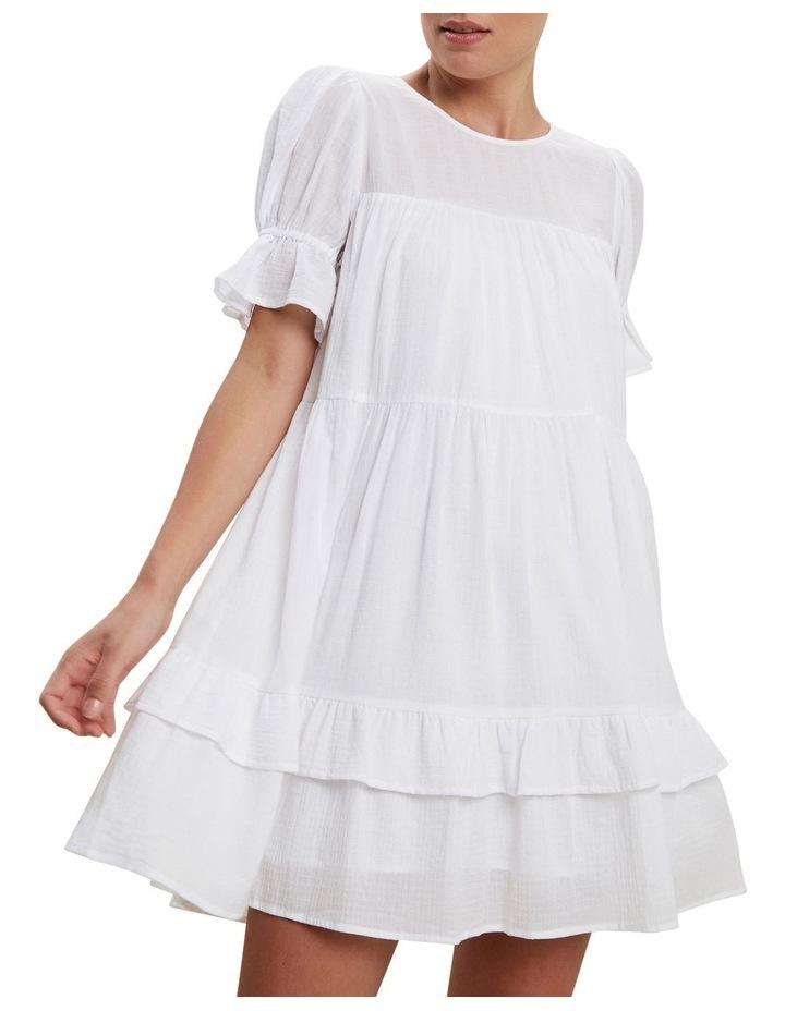Check Ruffle Dress image 1
