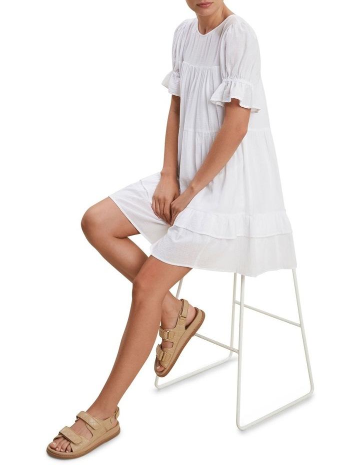 Check Ruffle Dress image 2