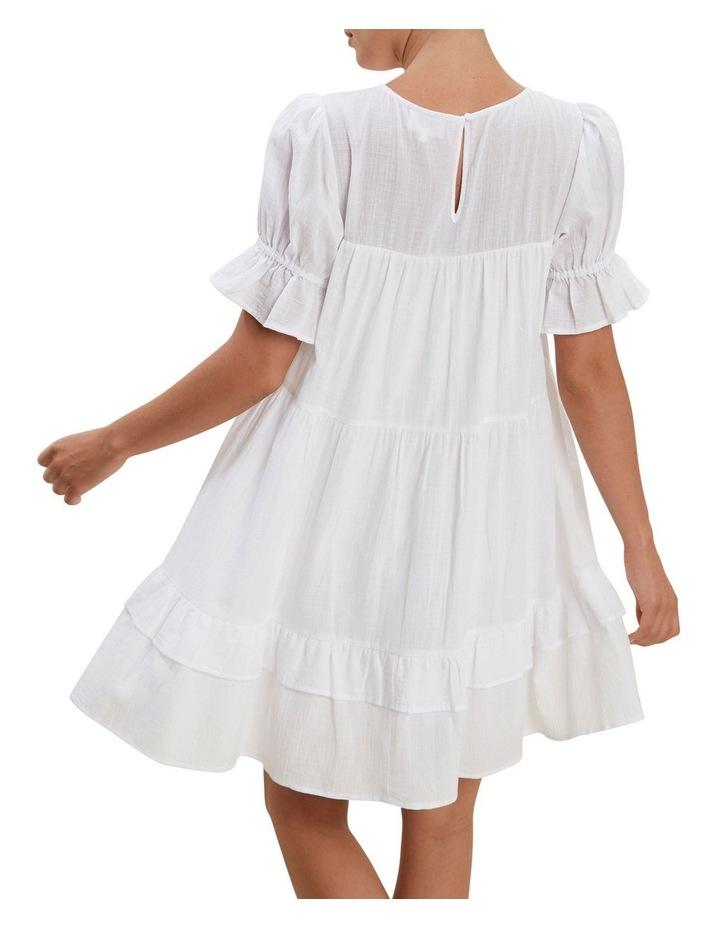 Check Ruffle Dress image 3