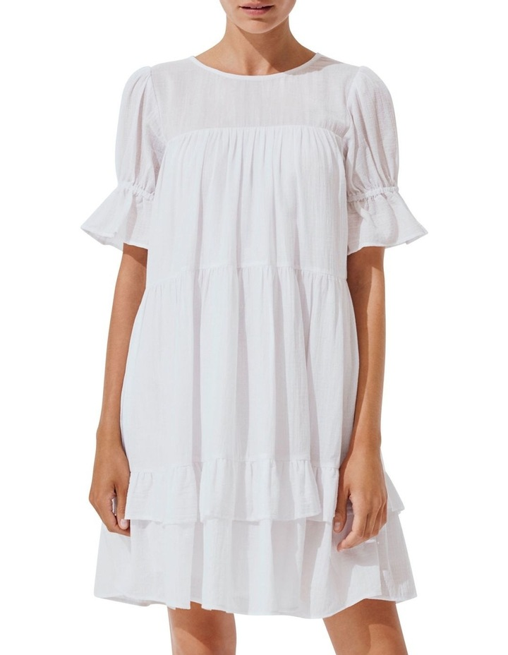 Check Ruffle Dress image 5