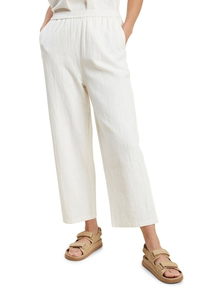Textured Relaxed Pant image 1