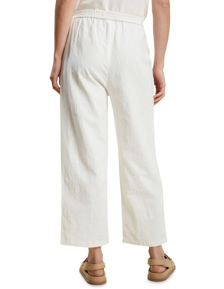 Textured Relaxed Pant image 3