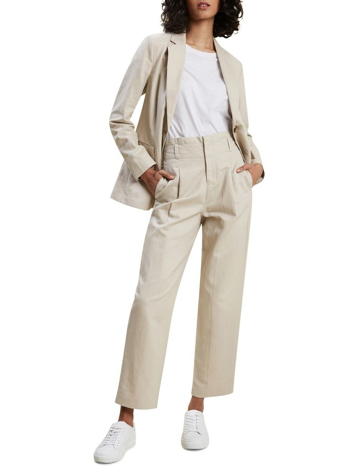 High Rise Tailored Pant image 2