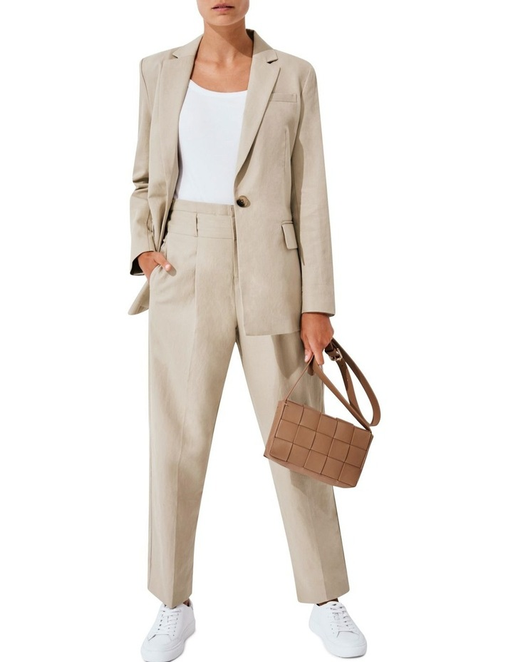 High Rise Tailored Pant image 5