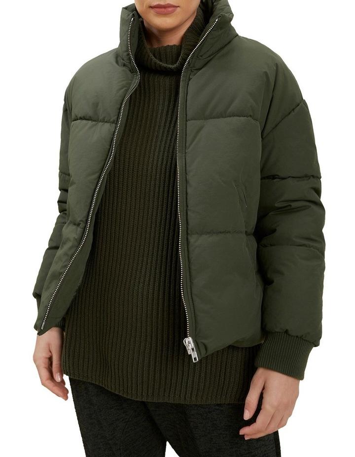 Funnel Neck Puffer Jacket image 1