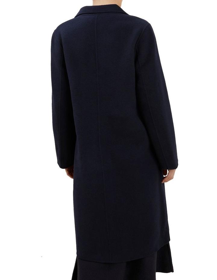 Wool Longline Coat image 3