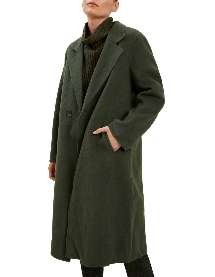 Wool Longline Coat image 1