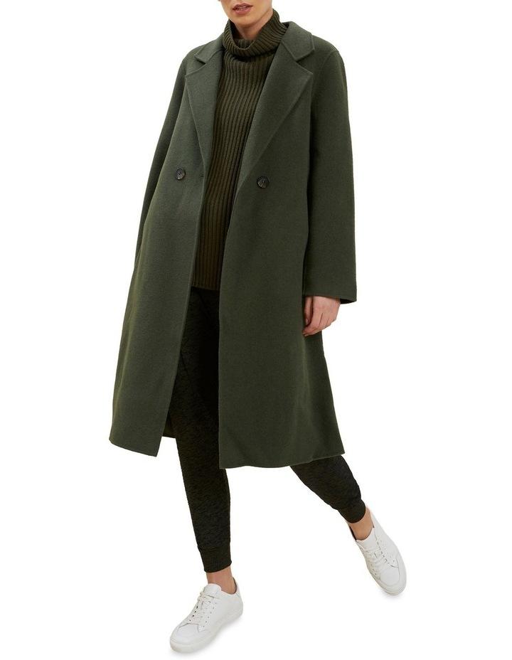 Wool Longline Coat image 2