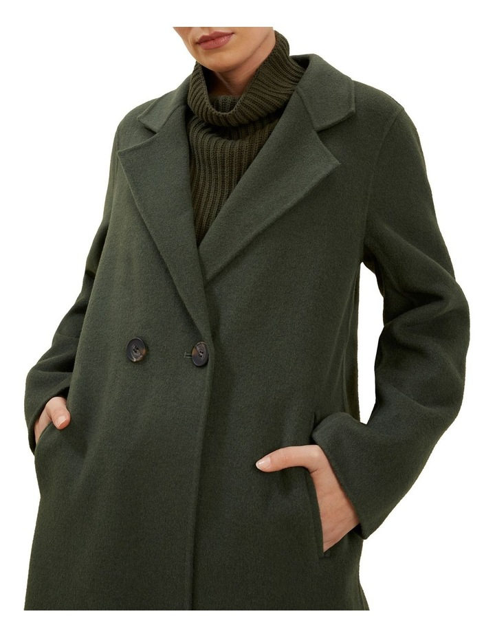 Wool Longline Coat image 4