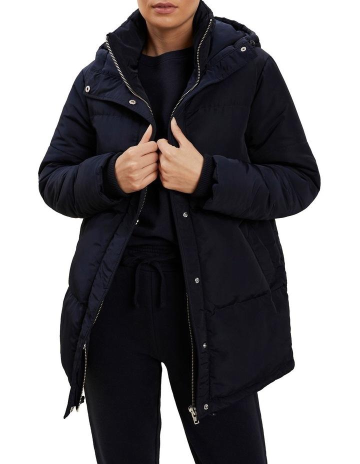 Mid Length Puffer Jacket image 1