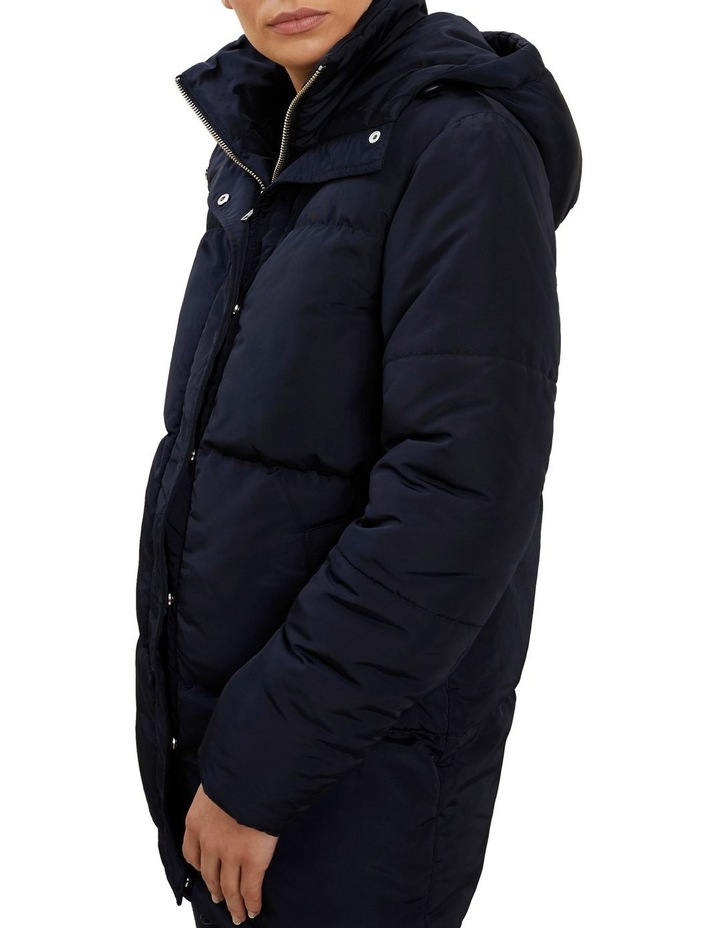 Mid Length Puffer Jacket image 4
