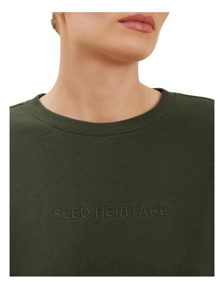 Heritage Logo Sweater image 4