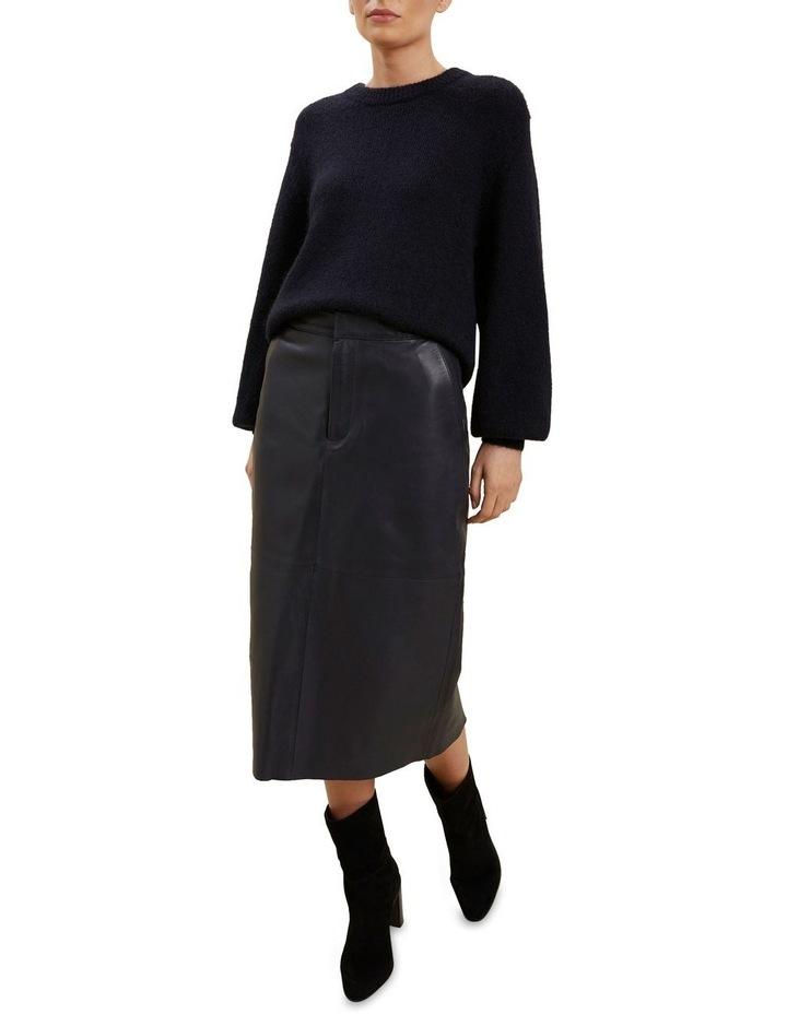 Leather Midi Skirt image 2