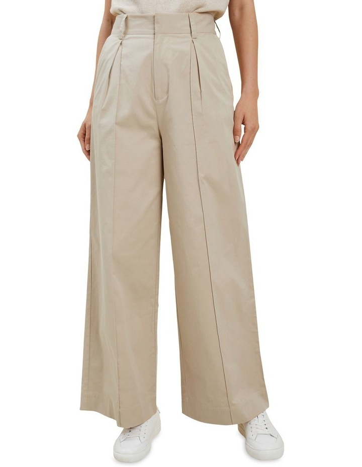 Tailored Wide Leg Pant image 1