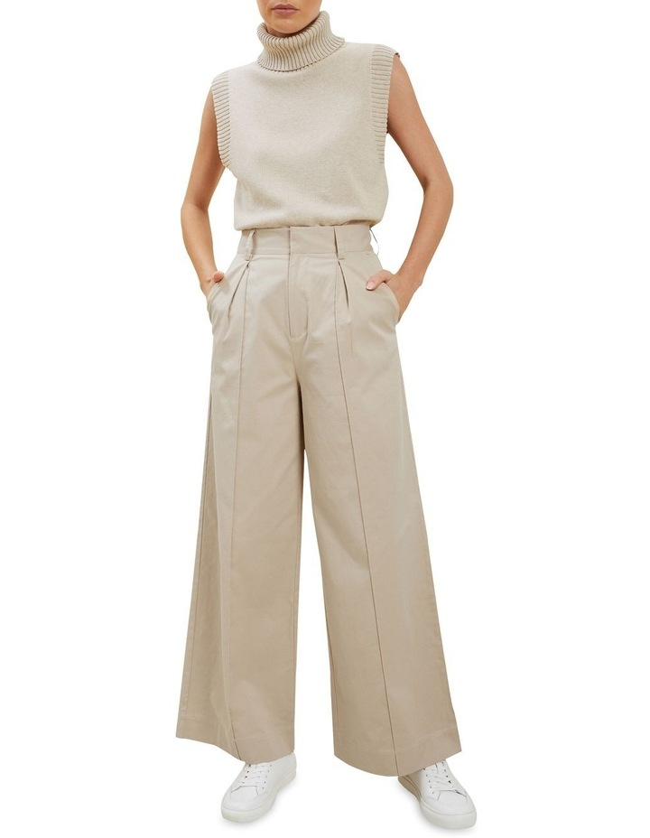 Tailored Wide Leg Pant image 2