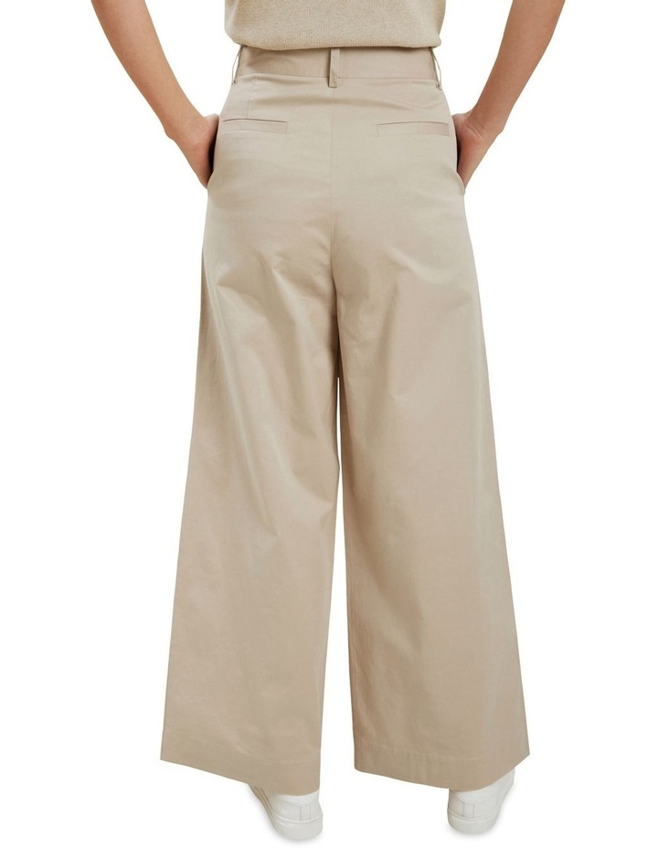Tailored Wide Leg Pant image 3