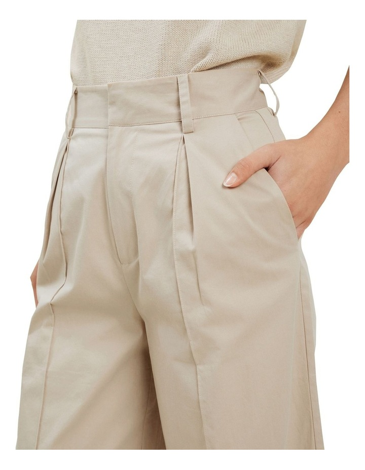 Tailored Wide Leg Pant image 4