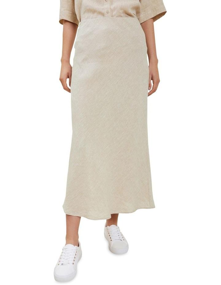 Linen Slip Skirt image 1