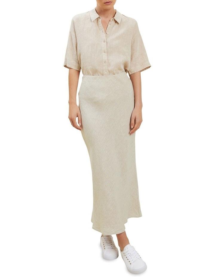 Linen Slip Skirt image 2