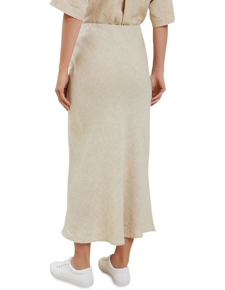 Linen Slip Skirt image 3