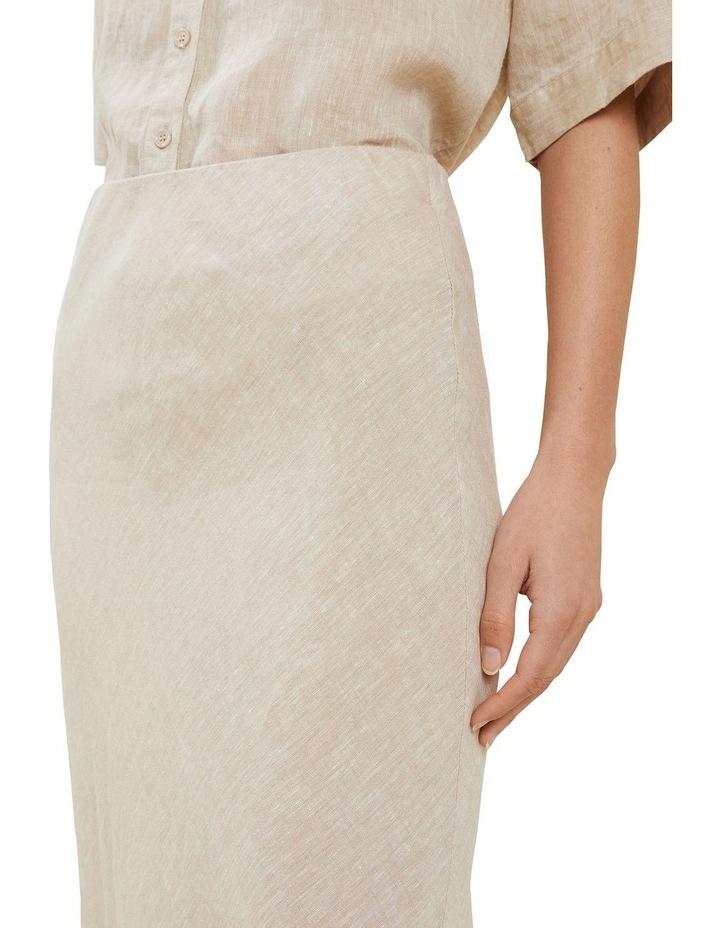 Linen Slip Skirt image 4
