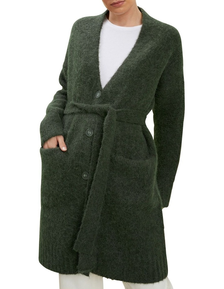 Relaxed Tie Cardigan image 1