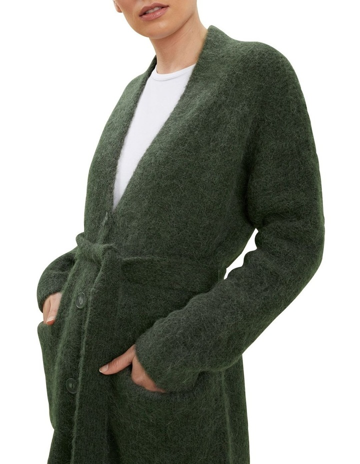 Relaxed Tie Cardigan image 4