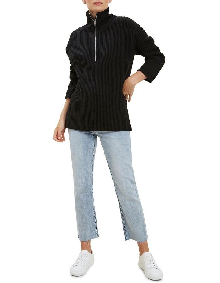 Longline Collared Sweater image 2