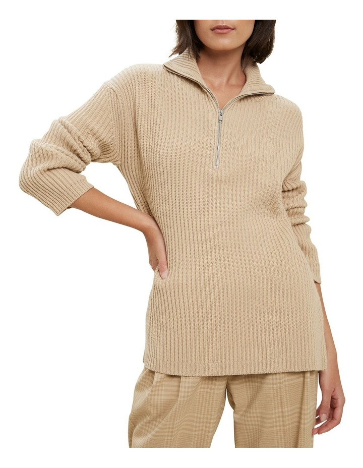 Longline Collared Sweater image 1