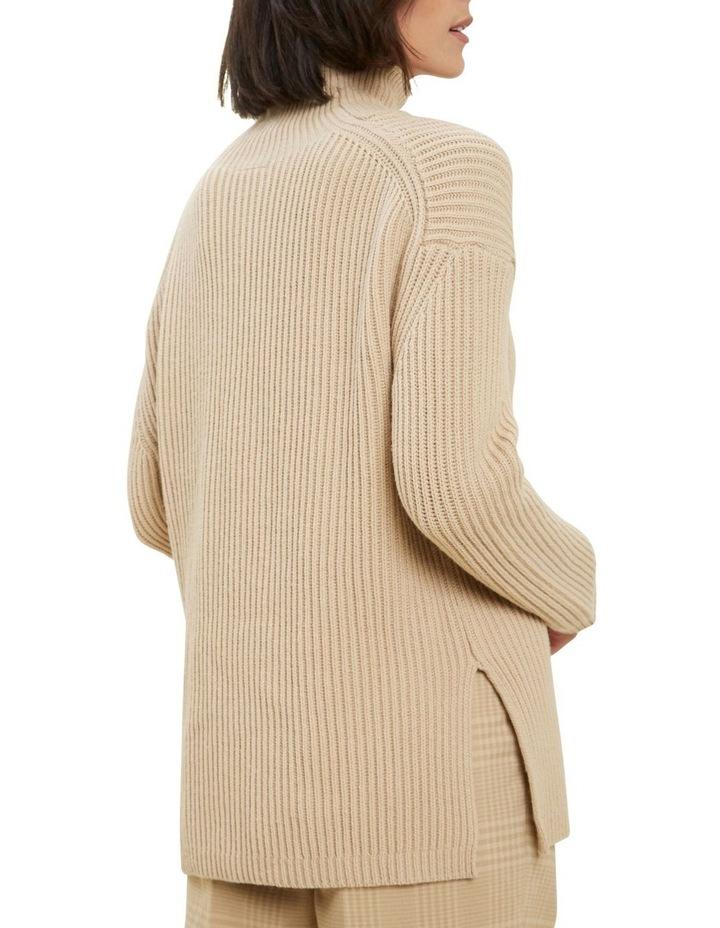 Longline Collared Sweater image 3