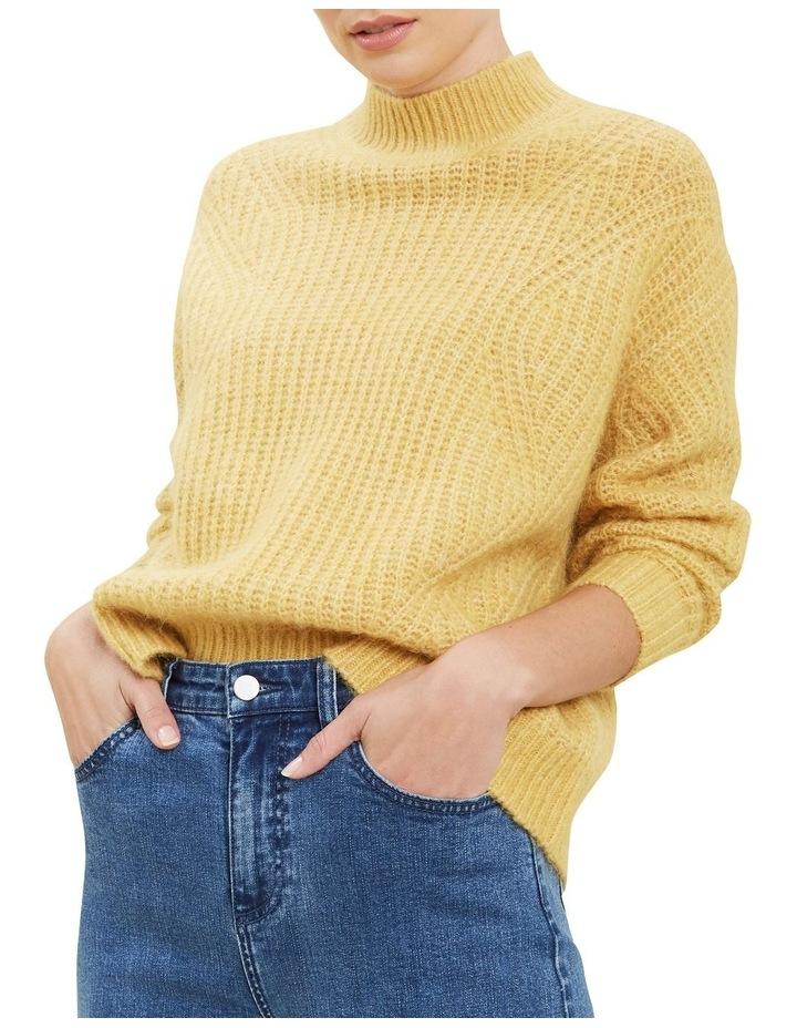 Slouchy Rib Sweater image 1