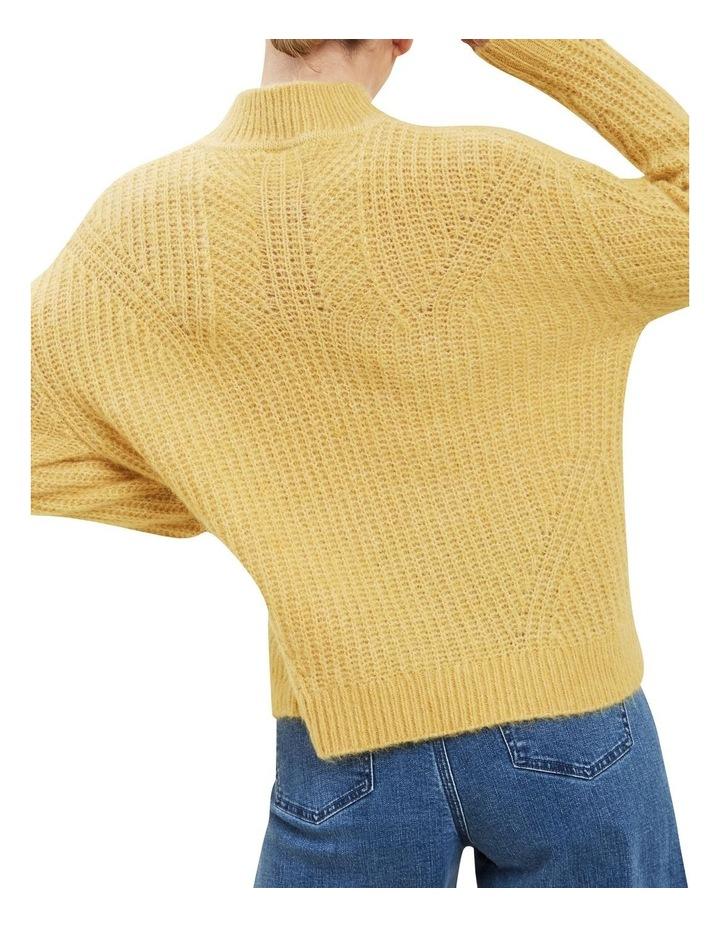 Slouchy Rib Sweater image 3