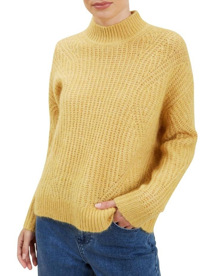 Slouchy Rib Sweater image 4