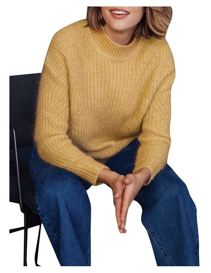 Slouchy Rib Sweater image 5