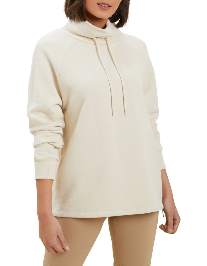 Terry Zip Sweater image 1