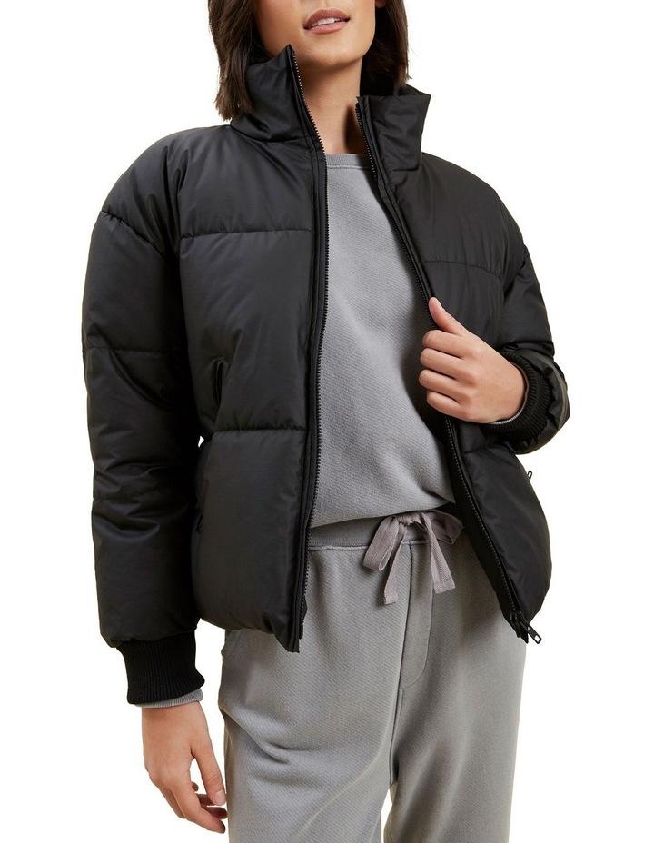 Crop Puffer Jacket image 1