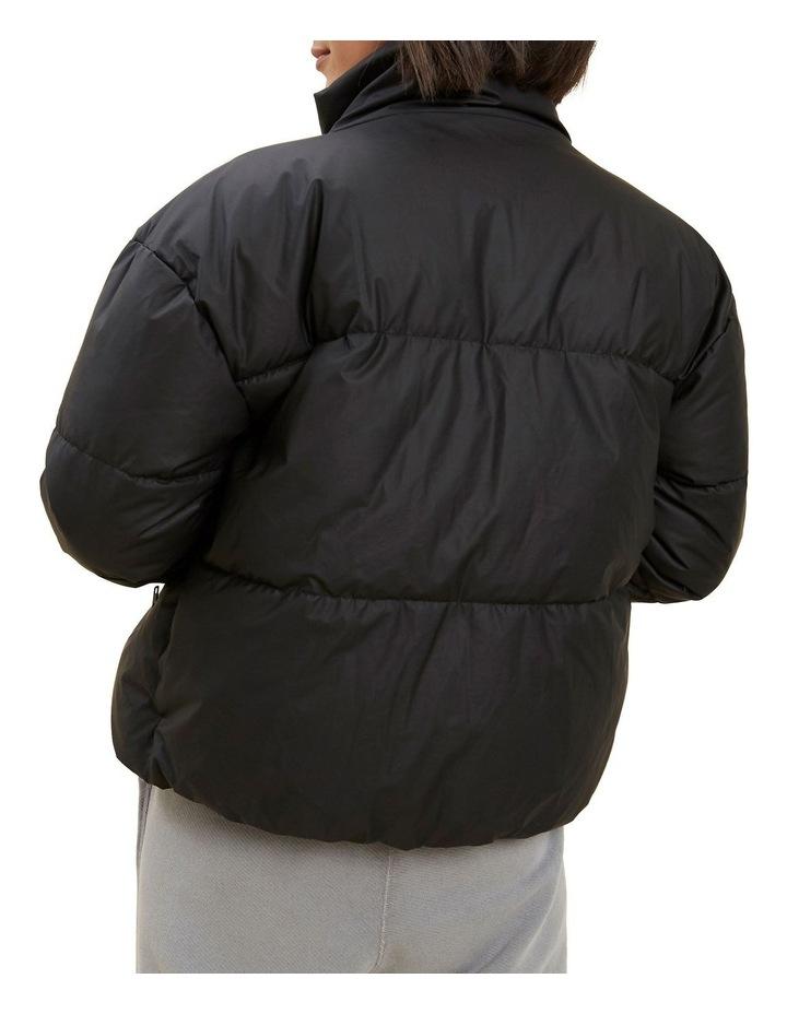 Crop Puffer Jacket image 3