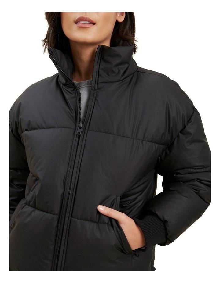 Crop Puffer Jacket image 4