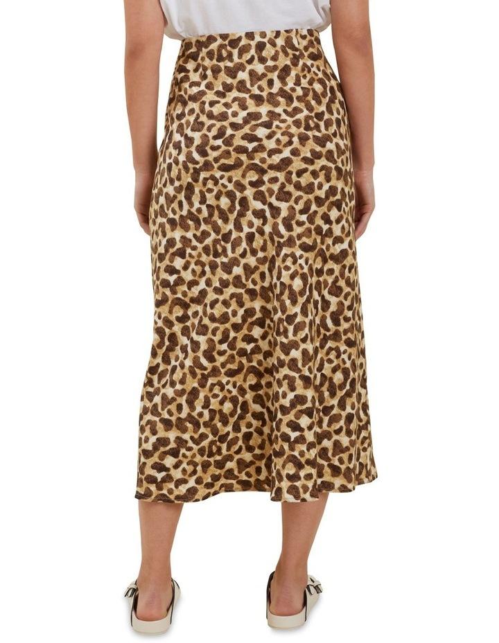 Leopard Slip Skirt image 2