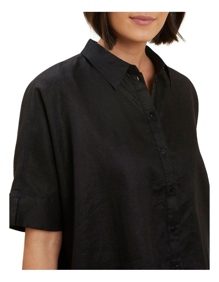 Linen Button Down Shirt image 4