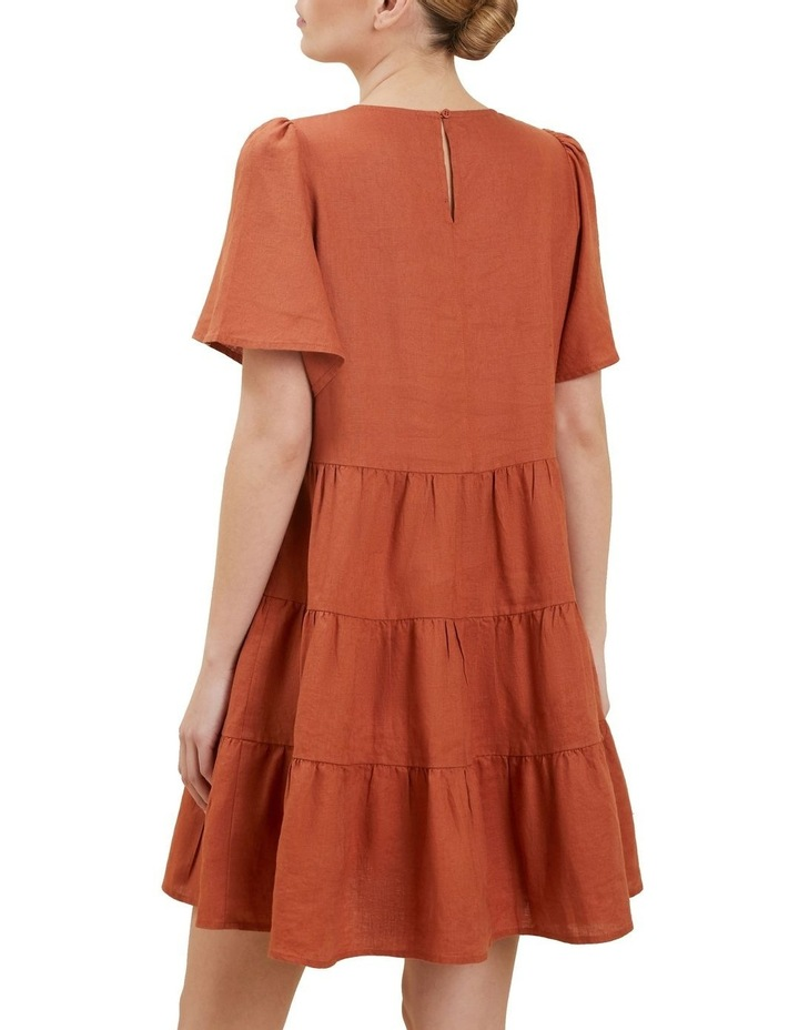 Linen Tiered Dress image 3