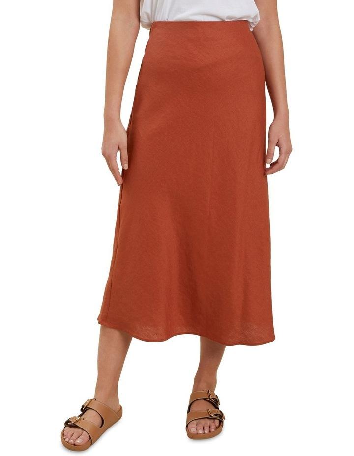 Core Linen Slip Skirt image 1