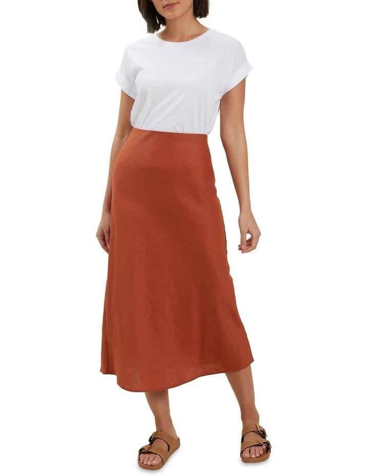 Core Linen Slip Skirt image 2