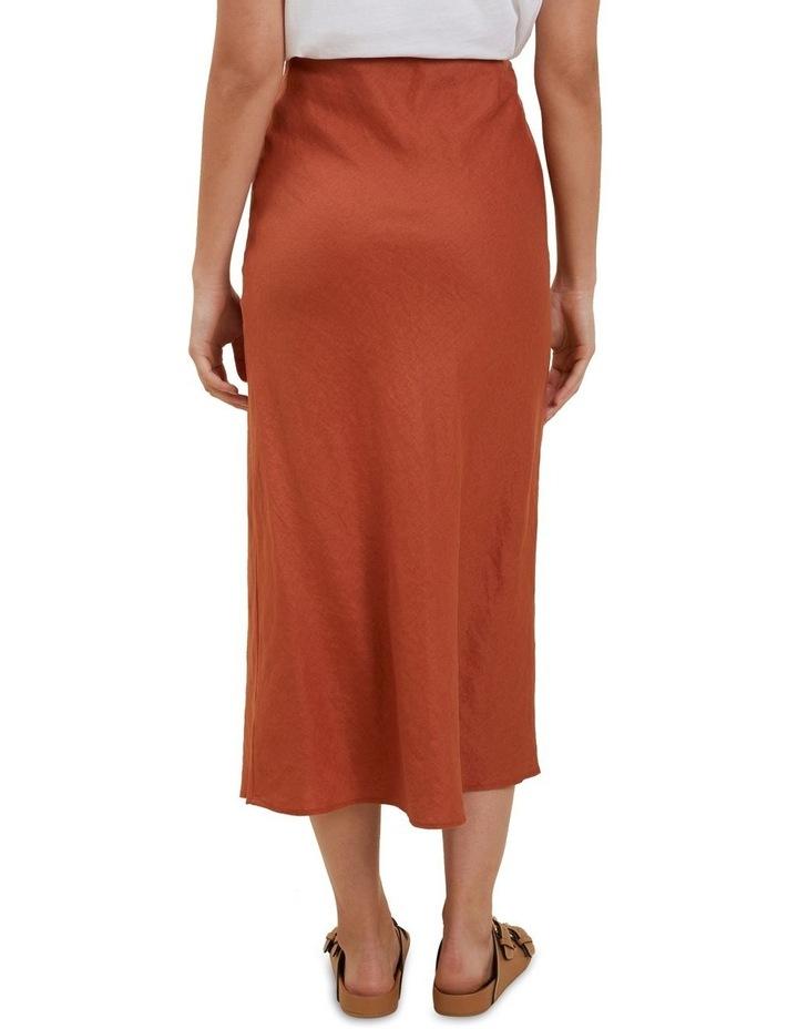 Core Linen Slip Skirt image 3