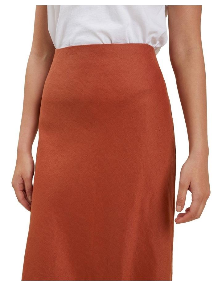 Core Linen Slip Skirt image 4